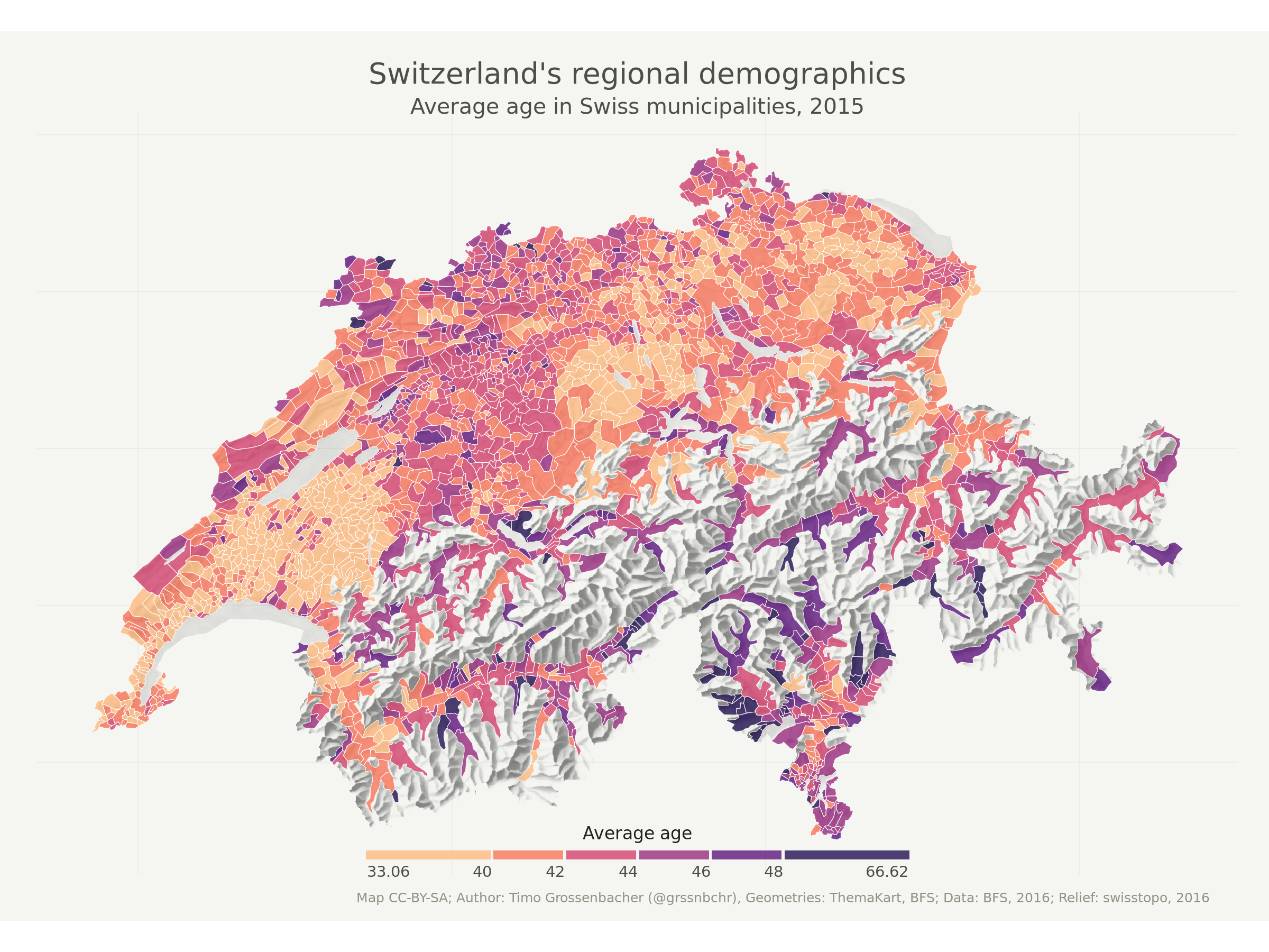 Beautiful thematic maps with ggplot2 (only) | Timo Grossenbacher