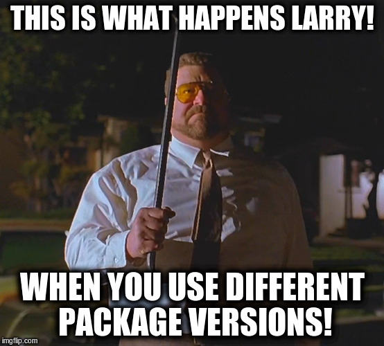A meme showing Walter (The Big Lebowski).